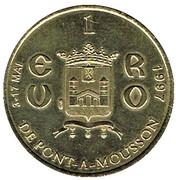 1 Euro - Pont-à-Mousson – reverse