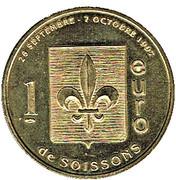 1 Euro - Soissons – reverse
