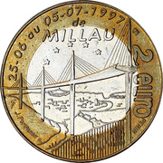 2 Euro - Millau – reverse