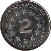 2 Euro - Poitiers – reverse