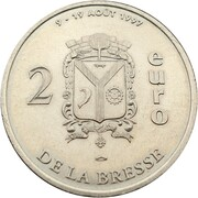 2 Euro - La Bresse – reverse