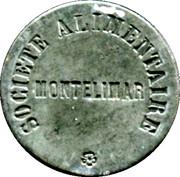 Token - Société alimentaire (Montélimar) – reverse