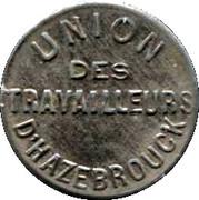 Token - Union des Travailleurs d'Hazebrouck – obverse