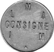 Token - L M A Consigne – obverse