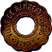 Token - Fourneau économique (Rambervillers Vosges) – obverse