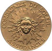 Token - Assurances Compagnie du Soleil – obverse