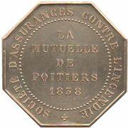 Insurance Token - Assurances Mutuelles de Poitiers – reverse