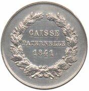 Insurance token - Assurances Caisse Paternelle – reverse