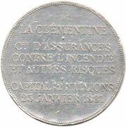 Assurances La Clémentine – reverse