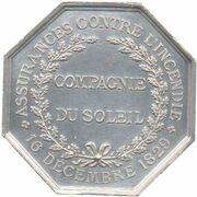 Insurance Token - Assurances Compagnie du Soleil – reverse