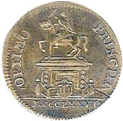 Counter Token - Louis XVI (Optimo Principi) – reverse