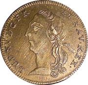 Token - Louis XV (Optimo Principi) – obverse