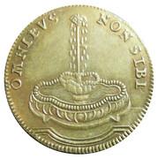 Counter Token - Louis XVI (Omnibus non sibi) – reverse