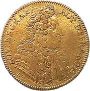 Counter Token - Louis XIV (LE REPOS SVIT LA VICTOIRE) – obverse