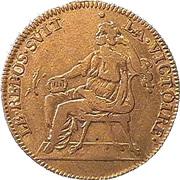Counter Token - Louis XIV (LE REPOS SVIT LA VICTOIRE) – reverse