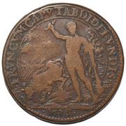 Counter Token - Louis XIV (TRVNCVM CAPVT ABDIDIT VNDIS) – reverse