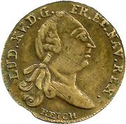 Counter Token - Louis XV (Optimo Principi) – obverse
