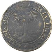 Token - Anne d'Autriche (Les succès militaires du jeune roi 1645) – reverse
