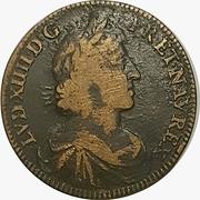 Jeton - Louis XIII (Mvtvvs iste ardormevs est) – obverse