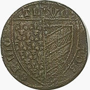 Token- France (Shield / Floreate cross) – obverse