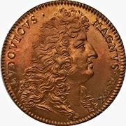 Token - Louis XIV (Attourneys to the King's counsel - Restrike) – obverse