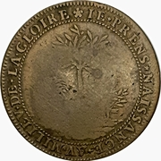 Token - Peace of the Pyrenees – reverse