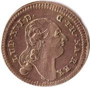 Counter Token - Louis XVI (Johann Christian Reich) – obverse