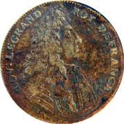 Counter Token - Louis XIV (Le repos suit la victoire) – obverse