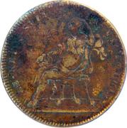 Counter Token - Louis XIV (Le repos suit la victoire) – reverse