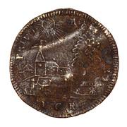 Counter Token - Louis XVI (PRIVO MORIRO) – reverse