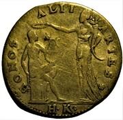 Token - Apollo and Honor / Minerva (Hans II Krauwinckel, Nürnberg) – obverse