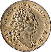 Token - Louis XIV (Military Household) – obverse