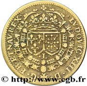 Token - Louis XIII (Le Juste) – reverse