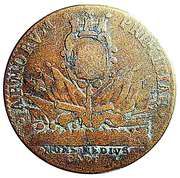 Token - Louis XIV (Commémoration de la prise de Montmédy; Ardennes) – reverse