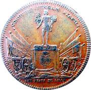 Token - Fiançailles de Louis XV et de l'infante d'Espagne États de Lille (Lille) – reverse