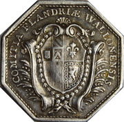Token - Louis XVI (États de la Flandre Walonne) – reverse