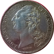 Token - Louis XVI (Académie Françoise) – obverse