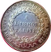 Token - Louis XVI (Académie Françoise) – reverse