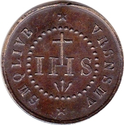 Medal - Saint Benoît ou Médaille des sorciers – obverse