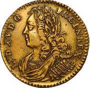Token - Louis XV (Apollon) – obverse
