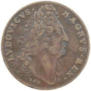 Token - Louis XIV (Tot Aeraria Quot Cives) – obverse