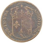 Token - Anne d'Autriche (France et Navarre) – reverse