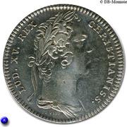 Token - Louis XV (Late cuncta profondit) – obverse