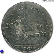 Token - Louis XV (Late cuncta profondit) – reverse
