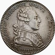 Token - Charles Philippe Comte D'Artois – obverse