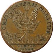 Token - Louis XIV (Carthagena) – reverse
