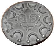 Méreau - Saint Clement of Rome – reverse
