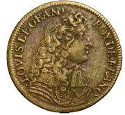 Token - Louis XIV (Conquest of Flanders) – obverse
