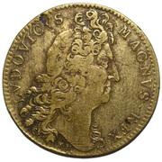 Token - Louis XIV (Galères royales; AEQUORA LUSTRANOD PACAT) – obverse