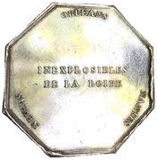River transportation company Inexplosibles de la Loire – reverse